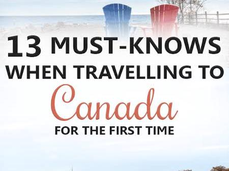 13 Things to Know Before Traveling to Canada for the first time