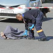 Man shot dead in the early hours of the morning.