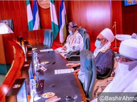 Supreme Leader Of Tijjaniyya Islamic Group Visits President Buhari