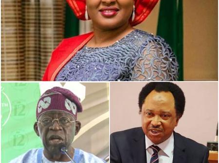 After Tinubu said Aisha Buhari's Voice is calling Politicians to be Better, See Shehu Sani reactions