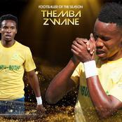 Sundowns star, Themba Zwane bags three PSL awards