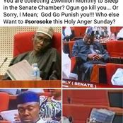'You are collecting 29 million monthly to sleep' - Popular businessman slams Nigeria Senators