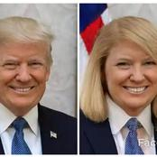 See What Donald Trump And Other Celebrities Would Look like If They Swapped Genders As Seen on an app