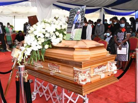 Safiri Salama! Nyeri Governor Leads Residents In Mourning The Demise Of a Prominent Leader