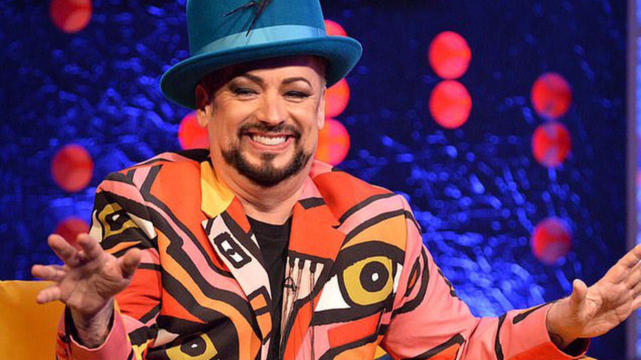 Boy George is 'embarrassed' by old feud with Madonna and likens his past self to 'a cartoon character' as he reveals plans to release 60 new songs on his 60th birthday in June