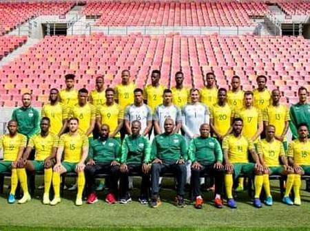 South Africa vs Ghana starting line up