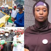 Who started this business of 'project commissioning' in Nigeria?- Aisha Yesufu asks