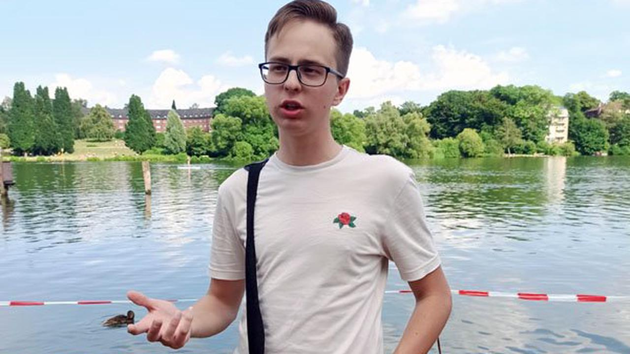 Rententopf-Aktion mit Linke-Kandidat Tankacheyev