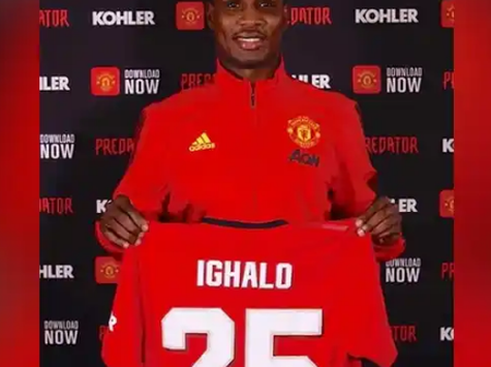 See How Much Ighalo Earns in Naira Every week As a Manchester United player