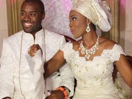 The New Olu Of Warri : See Photos Of His Beautiful Wife Who Is A Daughter Of A Popular Billionaire