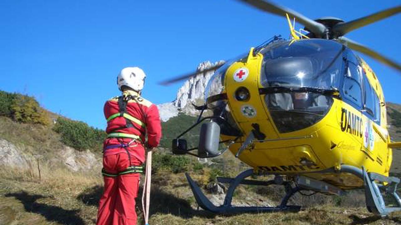 Ramsau am Dachstein, Bez. Liezen: Wanderer schwerverletzt mit Hubschrauber ausgeflogen