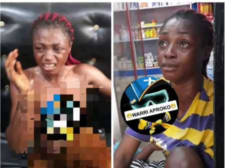 See What This Nursing Young Mother Was Caught Stealing Inside A Saloon