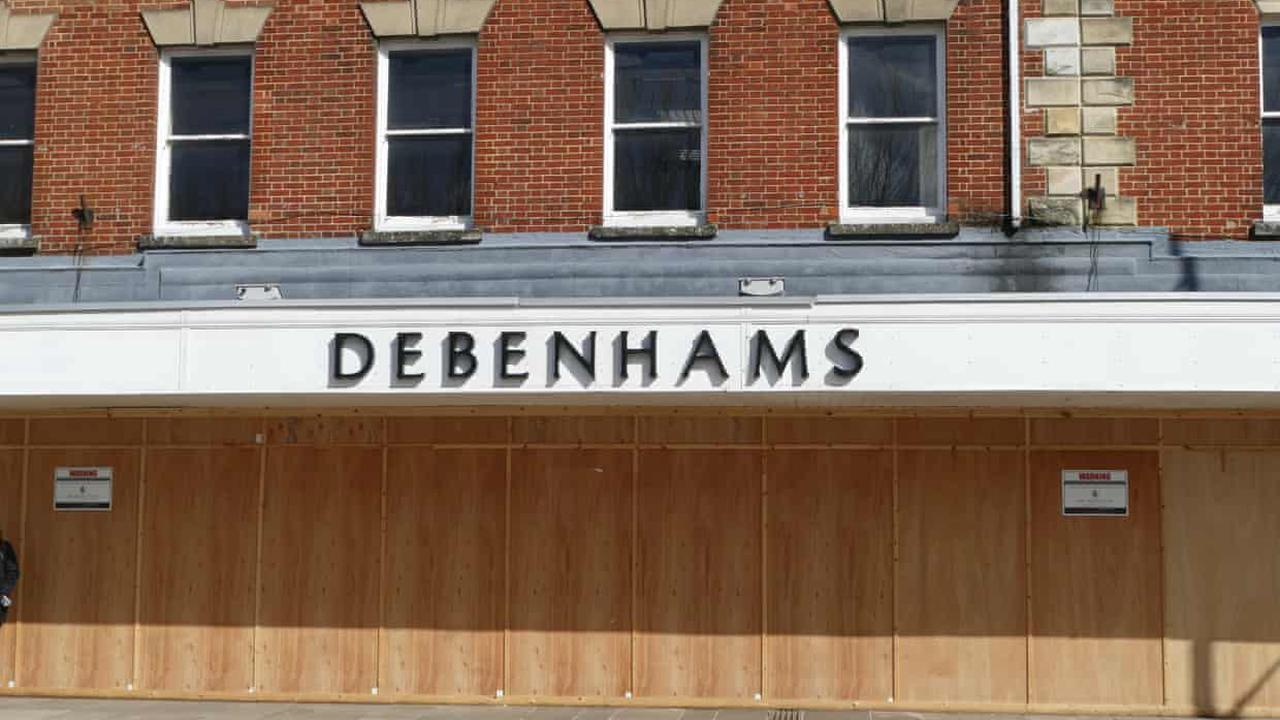 Debenhams to briefly reopen 97 stores in closing down fire sale