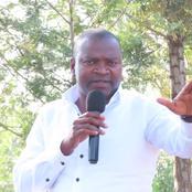 Matungu By-election To Give Echesa A Comeback