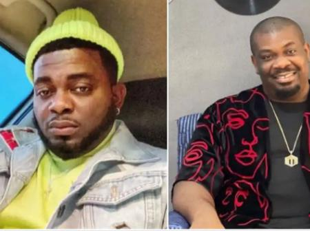 Kelly Hansome accuses Don Jazzy of arresting him with SARS