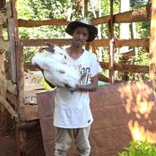Murang'a Youth Makes 70K a Month From Rabbit Farming