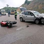 A Biker Losses His Life In A Head On Collusion with a VW Polo in Limpopo