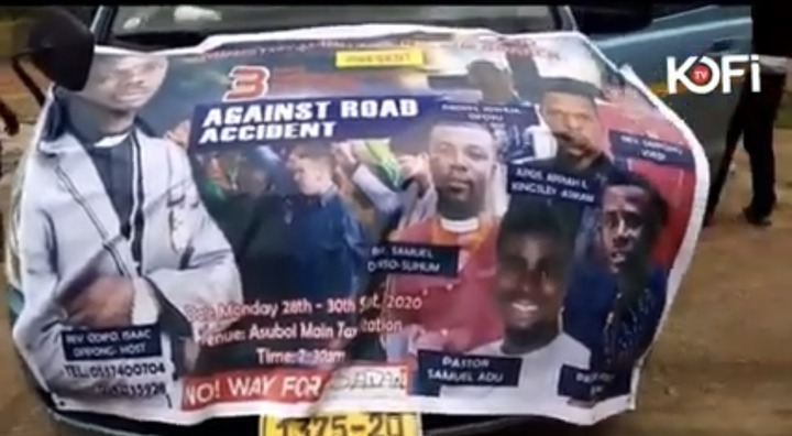 38add0d48401eb116a6972a69c4c530b?quality=uhq&resize=720 - Pastors spotted praying against accident on the Accra to Kumasi Highway (Video)