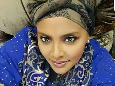 Late Sani Abacha's Daughter Is A Goddess In Decent Clothes (See Photos)
