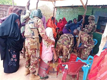 KDF Troops Provides Hundreds With Free Medical Care In Somalia