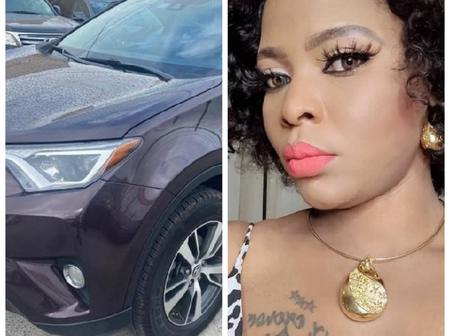 Wumi Toriola And Others Congratulate Actress Oluwatoyin Teegold As She Acquires New Car (Photos)