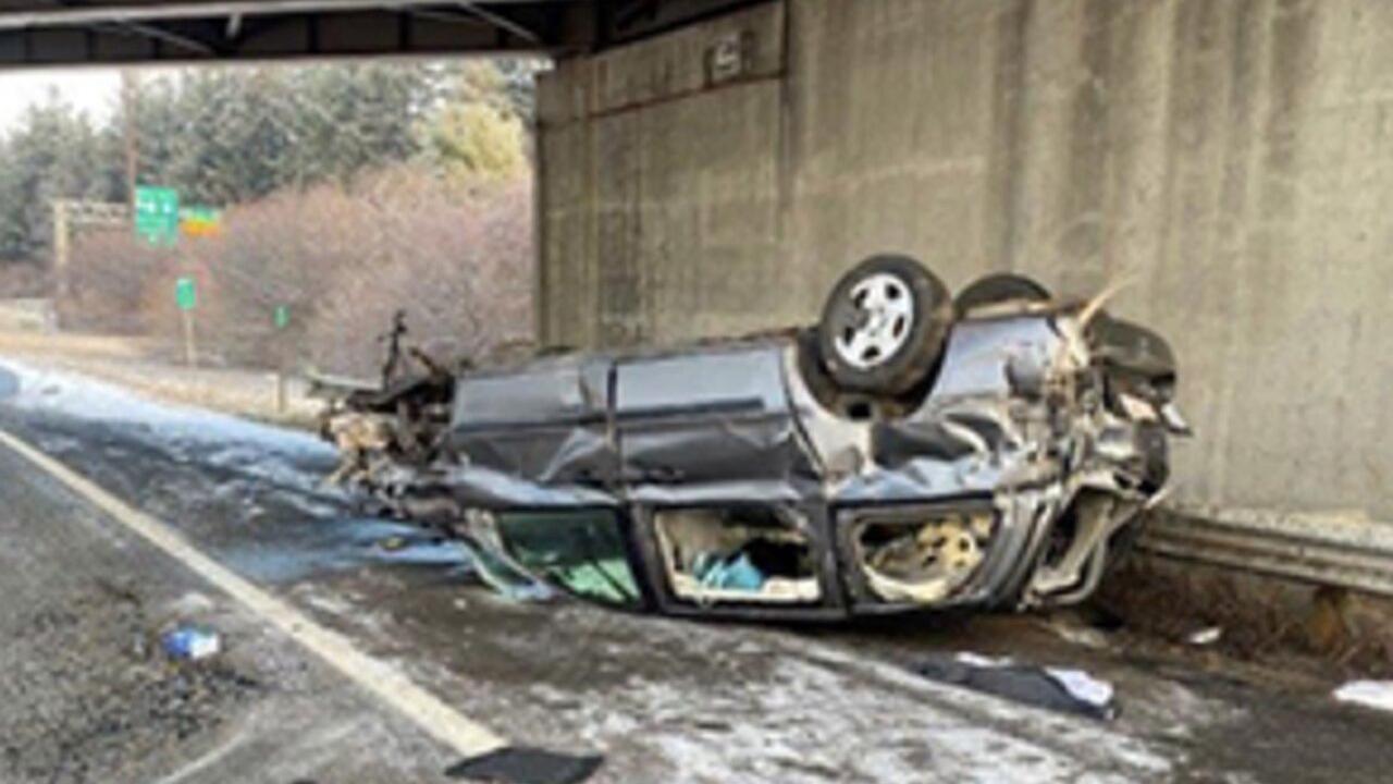 Homeland man killed in rollover crash