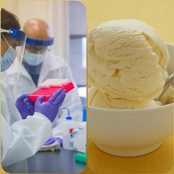 Ice cream 'tests positive' for Covid from a food company in Tianjin, China.