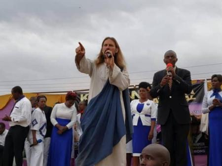 Wonders Shall Never End! Meet The Fake Jesus Who Once Visisted Kenya And Prayed For People