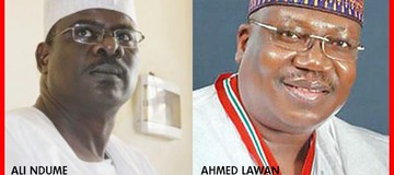 Senate Presidency: Why Ndume Lost Out To Lawan