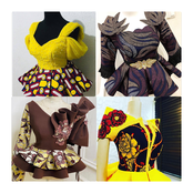 21 gorgeous and lovely Ankara tops for ladies