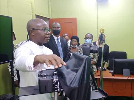 Acting Vice Chancellor Commissions Ultra-Modern Recording Studio At Odel Centre PH