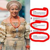 See Fans' Reactions After Nollywood Actress, Ngozi Ezeonu Got This Photo Posted On Social Media