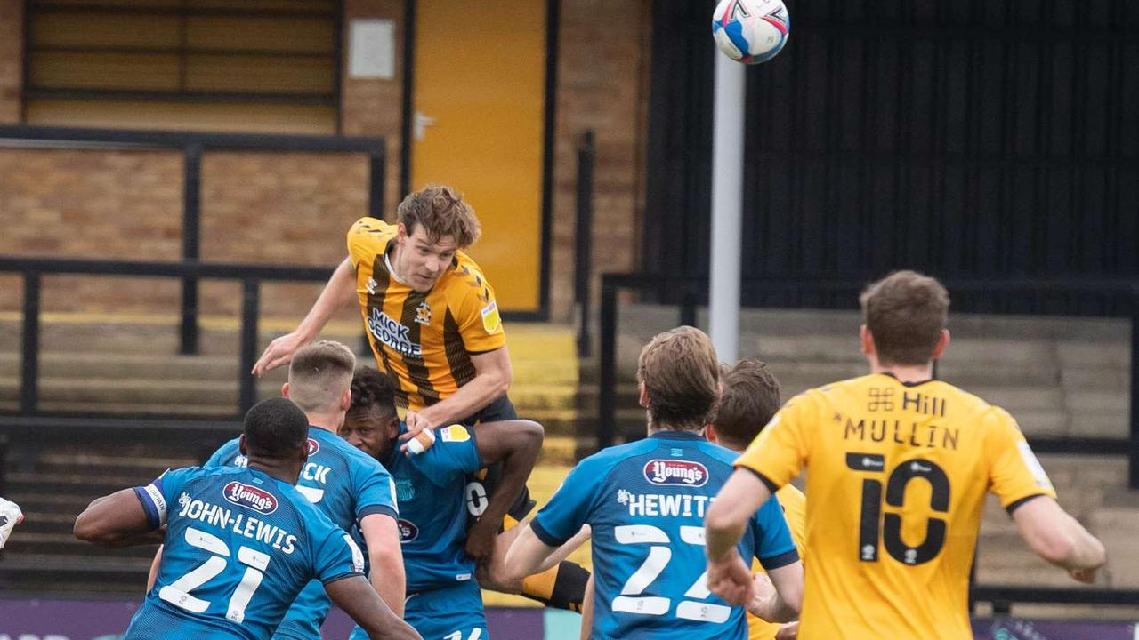 Joe Ironside lauds club-wide effort that saw Cambridge United promoted to League One