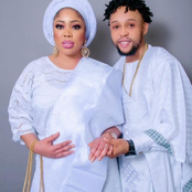 Check Out How Nollywood Actor, Sunkami Omobolanle Celebrated His Wife On Her Birthday