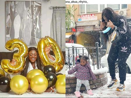 Kumawood Actress Tracey Boakye Makes New Promise To Herself As She Turns 30 With Adorable Photos