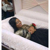 Reactions As Lady  Shares Pre-burial Photos