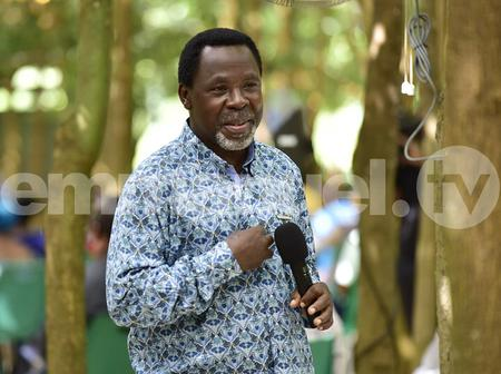 TB Joshua Drops Powerful Message, Says Prophet Has No Honour In His Country