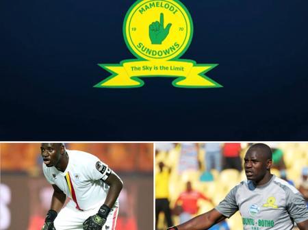 Mamelodi Sundowns goalkeeper Denis Onyango retires