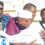 15 Beautiful photos of Pastor Adeboye and Oyedepo giving us Friendship goals