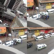 Update : Zulu Men Shooting Up As Turf War Between Zulus & Zimbabweans Proceeds In Hillbrow.