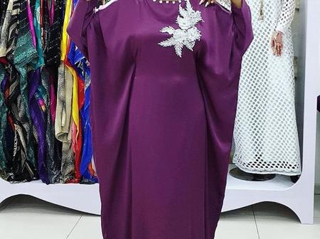 Ladies, See Eye-Catching Boubou Gown Styles That Ladies Can Rock To Any Event