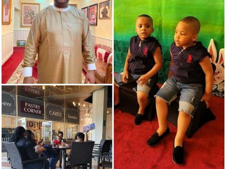 Fani-Kayode Shows His 4 Sons And Their Nannies Spending Time Together (Photos)
