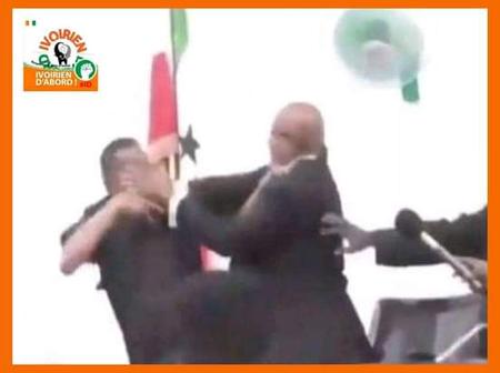 Somalie: le Chef de l'Etat et son Président de l'Assemblée nationale se bagarrent en public