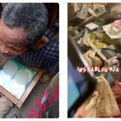 See the items that were recovered from an alleged ritualist den that was recently discovered