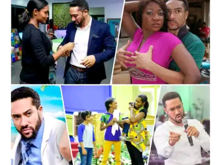 Remember This Ghanaian Actor Who Quit Acting To Become A Pastor? See Photos Of His Wife And Kids