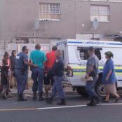 Drunk cop goes viral after crashing SAPS vehicle