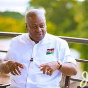 Election 2020: Mahama promise to turn Ghana's economy into a 24-hour economy when voted into power