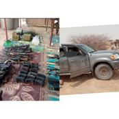 77 AK-47 Rifles, Two Rocket Launchers & 7 RPGs Coming To Northern Nigeria Intercepted (Photos)