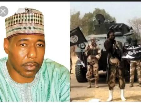 Breaking News: Boko Haram Attacks Governor Zulum Convoy Again, Killing 7 Soldiers And 2 Others.