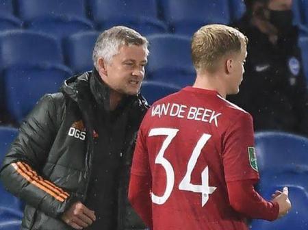 Manchester United Boss Solskjaer Turns Around Decision On Van De Beek